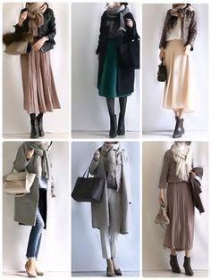 How to wrap a stall, son item, Winter Outfits, Japan Fashion, 70s Fashion, Modest Fashion, Hijab Fashion, Korean Fashion, Fashion Dresses, Fashion Looks, Womens Fashion, Frock Fashion