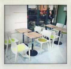 New outdoor seating@Gratitude. Hello Munich Summer!