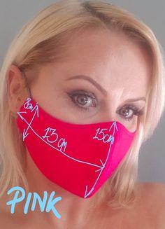 Easy Face Masks, Diy Face Mask, Homemade Face Masks, Sewing Hacks, Sewing Tutorials, Pocket Pattern, Fashion Face Mask, Diy Mask, Sewing Patterns Free