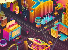 LAS VEGAS & DUBAI on Behance