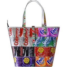 Recycled Soda Can Tote Purse