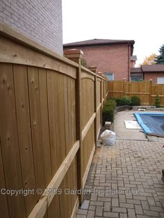 prowells premier garden wood fence designs outdoor gear pinterest wood privacy fence and privacy fences - Home Fences Designs