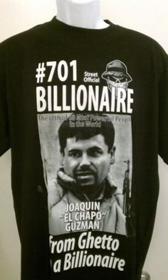 El chapo nation el chapo guzman t shirt free shipping size for Chapo guzman shirt brand