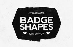 Medialoot - Hand Painted Vector Badge Shapes