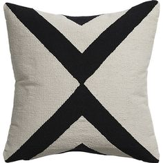 "xbase 23"" pillow with feather-down insert"