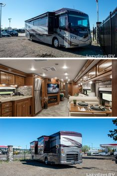 If you're in the market for a new or look no further than the Winnebago Forza. This RV delivers top-tier luxury while on the open road. Stop by and see this model in person! Luxury Motorhomes, Motorhomes For Sale, Class A Motorhomes, Luxury Rv Living, School Bus Rv, Coach Travel, Rv Bus, Travel Camper, Bus House