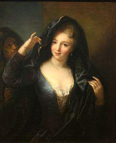 Jeune fille au collier de perles, early 18th century, attributed to Jean Raoux (1677-1734) (Musee des Beaux-Arts de Marseille)