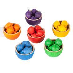 Grapat Bowls and Acorns Sorting Game - TheTot