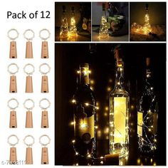 Lights Cork Led String Warm Lights (Pack of 12) Material: Plastic Pack: Multipack Cable Length: 2 M Country of Origin: India Sizes Available: Free Size   Catalog Rating: ★4.2 (1327)  Catalog Name: Classy Indoor String Lights CatalogID_1228753 C127-SC1620 Code: 817-7593111-9902