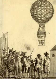 La historia de la aerostación empieza a finales del siglo XVIII, en Francia.  Los hermanos Montgolfier fueron los primeros en construir un globo de papel.