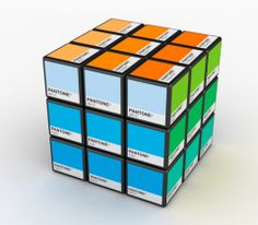 RUBIKONE - Rubik cube with PANTONE colors. Just LOVE it!
