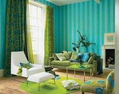 Image detail for -Turquoise and Green Color Schemed Interiors » Home and Decor