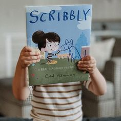 When Maude moves to a new town, everything feels…okay. Things would feel just right if only she had a friend. So, Maude draws a blue puppy and names him Scribbly. This heartfelt picture book is perfect for fans of Where the Wild Things Are by Maurice Sendak, Harold and the Purple Crayon by Crockett Johnson, The Adventures of Beekle by Dan Santat, and The Rabbit Listened by Cori Doerrfeld. 📸 @thebookscript Dan Santat, Purple Crayon, Maurice Sendak, Meeting New Friends, Real Friends, Four Legged, Cool Pictures, Rainbow, Puppies