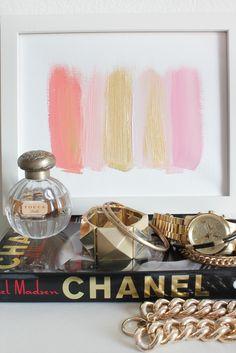 Colors 117 - an original painting by Jen Ramos at Cocoa & Hearts