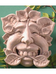 Nature Stone Wall Plaque/Garden Statue   576 | Garden Statues And Products