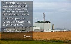 Inauguramos en Miajadas (Cáceres) la primera planta española de biomasa mixta, con una inversión de 50 millones de euros
