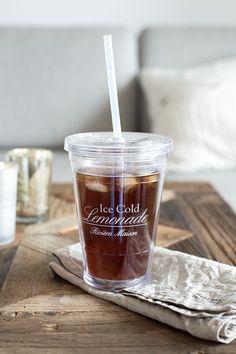 peach iced tea / Riviera Maison