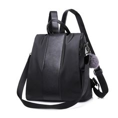 04a6862f2538 Versatile Waterproof Backpack Purse Made Of Nylon With Anti-Theft  Lightweight Features - School Shoulder Bag