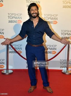 Vidyut Jamwal at the launch of an international fashion brand in Mumbai. Get premium, high resolution news photos at Getty Images Indian Bollywood Actors, Gorgeous Men, Beautiful Boys, Handsome Celebrities, Fashion Brand, Mens Fashion, Vogue Men, Beard Lover, Handsome Faces