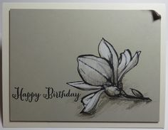 """Stampin' with Kathryn: Remarkable You """"sketchy"""" card"""