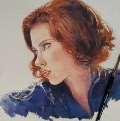 Marvelous watercolor paintings by Leow Drawing class - Natasha