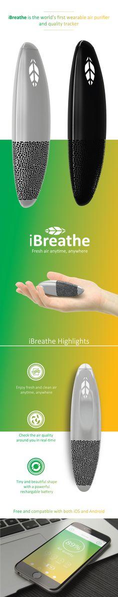 iBreathe fresh air anytime, anywhere | Indiegogo
