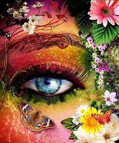 Bohemian inspired eye