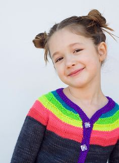 Ravelry: Little Right as Rainbow pattern by Stephanie Lotven