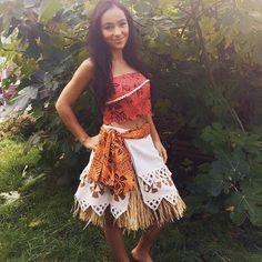 Vaiana Kostüm selber machen | Kostüm Idee zu Karneval, Halloween & Fasching