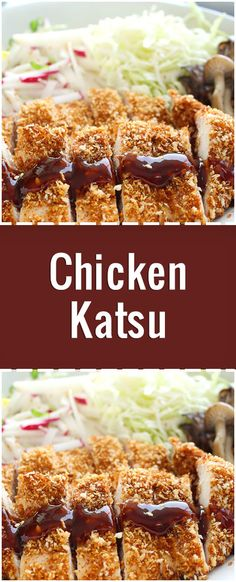 This is my family recipe for Chicken Katsu - Japanese style fried chicken. Can also be used to make Tonkatsu, just use pork cutlets instead of chicken. Serve with white rice and tonkatsu sauce. Pork Katsu Recipes, Chicken Katsu Sauce, Tonkatsu Sauce, Cutlets Recipes, Fried Chicken, Recipe Chicken, Chicken Curry, Pork Cutlets, Foodies