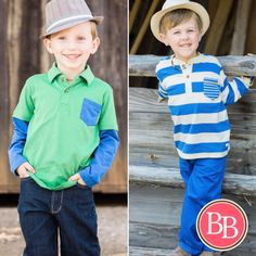 Jazz up his wardrobe with either of these bold sets from @brandisboutiqueshop!! #BBKids #spring #easter #boy brandisboutiqueshop.co