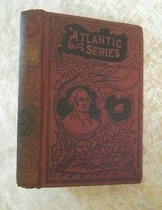 A Parisian Romance by Octave Feuillet Antique 1893 RARE Book Victorian Binding