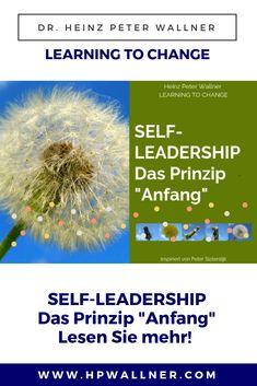 """Das """"Mit-sich-anfangen"""" bedeutet, sich dem ganzen Führungsleben bewusst auszusetzen, sich anstarten, sich als Prototyp zur Wirkung bringen, den Weg ins unbekannte Neue zu beginnen, das ganze Gewicht und die ganze Last bereitwillig auf sich nehmen, sich bei Bedarf auch einmal übernehmen und an die Grenzen gehen. Und auf diesem Weg dann bereitwillig annehmen, was aus mir selbst wird. #Selfleadership #Selbstführung #Selbstmanagement #Führung Peter Sloterdijk, Change, Herbs, Blog, New Start, Personal Development, Strength Workout, Herb, Blogging"""