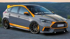 Ford will present at SEMA about 50 models of amazing cars. We will see both old and new models of the Ford Mustang, Fusion Sport, Fiesta and Focus. Ford Focus, Ford Fiesta Modified, Modified Cars, Ford Rs, Car Ford, Ford Trucks, Supercars, Autos Ford, Sema 2019