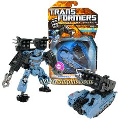 """Hasbro Transformers Reveal The Shield Series Deluxe Class 6"""" Tall Figure - MINDSET with Missile Launcher and 8 Missiles (Vehicle Mode: MLRS Tank)"""