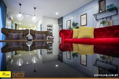 In the living area, we find a number of avant-garde design touches that really set this home apart. Dining Area, Decorative Items, Creative Ideas, Terrace, Innovation, Advertising, Relax, Cushions, Wall Decor