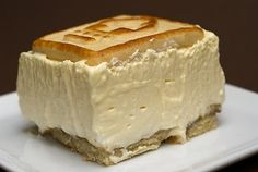 """This is Paula Deen's recipe. """"best banana pudding ever"""". Crust: Pepperidge Farm Chessmen cookies, Filling: bananas, milk, instant French vanilla pudding, cream cheese, sweetened condensed milk, frozen whipped topping (or sweetened whipped cream)."""