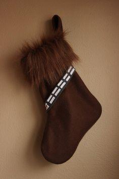 Chaussette de #Noël #Chewbacca