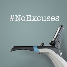 No Excuses. Fitness vinyl decal, #noexcuses, laptop sticker, fitness wall decor, exercise motivation