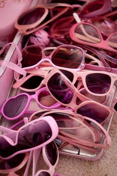 """A few """"shades"""" of PINK... :)"""