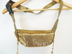 pretty sure my wardrobe could use a gold mesh fanny pack. just sayin.