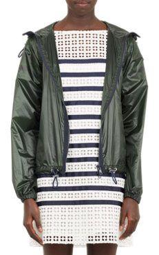 Flared-Back Windbreaker Designer Clothes For Men 229614e8820