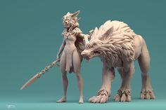 San by Julien Desroy   Fan Art   3D   CGSociety