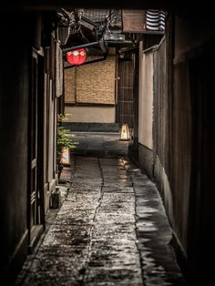 Back alley in Kyoto, Japan. Japan is a must see! All About Japan, Art Asiatique, Japanese Architecture, Japanese House, Nihon, Japanese Design, Dojo, Japanese Culture, Japan Travel