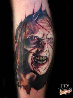Roman Abrego - Colour Exorcist Tattoo