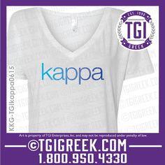 TGI Greek - Kappa Kappa Gamma - Sorority PR - Greek T-shirts - PR Shirts #tgigreek #kappakappagamma
