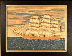Inventory | Earle D. Vandekar of Knightsbridge Inc. Sailor, Merchant Navy, Royal Marines, Navy Ships, Old And New, Folk Art, Needlework, Art Projects, Exotic