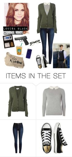 """""""Louisa Black"""" by fashion-scarlet ❤ liked on Polyvore featuring art"""
