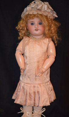 SFBJ French Doll Jumeau Tagged body