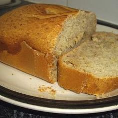 Banana Loaf in the Bread Machine